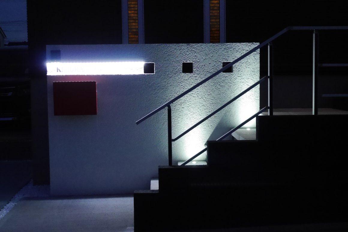 ■壁面をスタイリッシュに照らす■